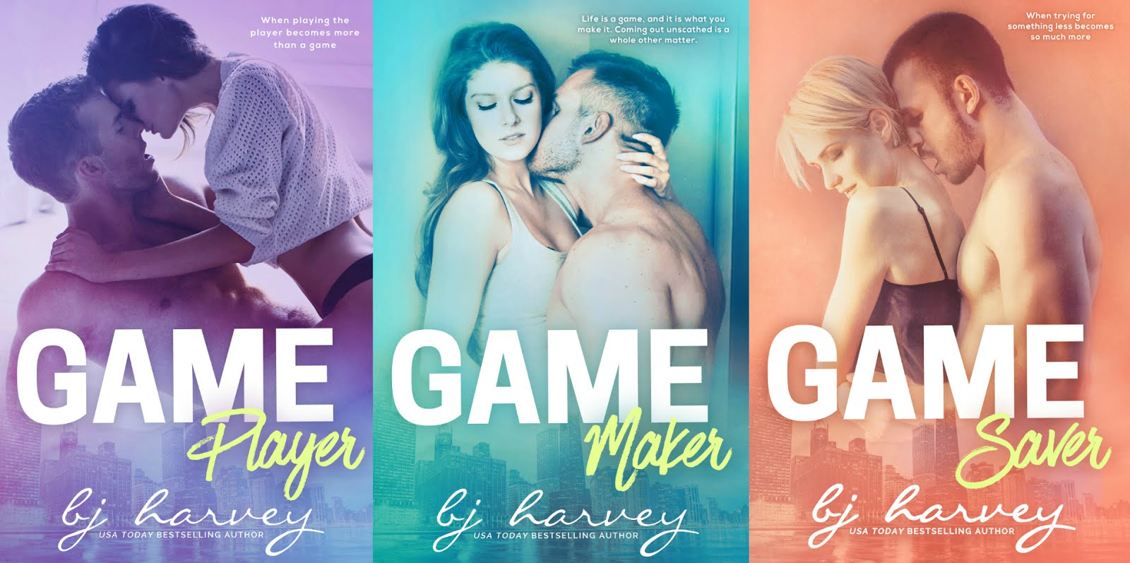 Book Blitz: Bliss Series & Game Series by BJ HArvey | Little Shop of